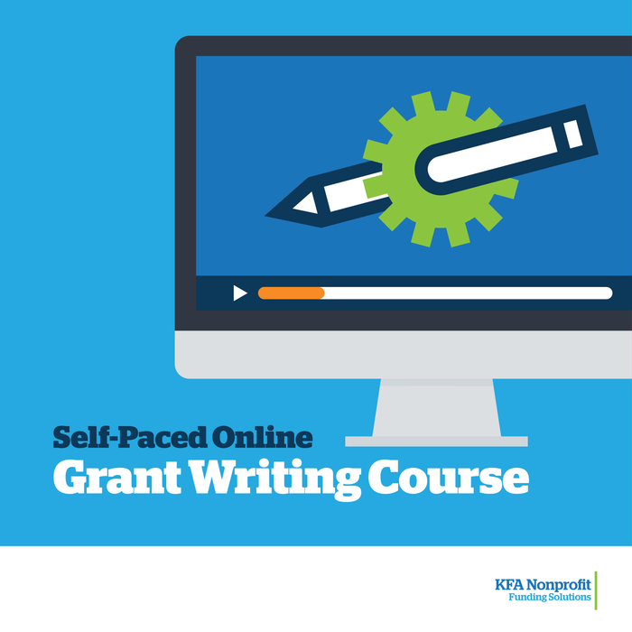 Full Self-paced Online Course: Grant Funding - Making Grant Writing Work for Your Organization
