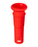 "18mm to 14mm Silicone Downstem 1"" Red"