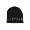 Stryk fishing apparel beanie - black and grey