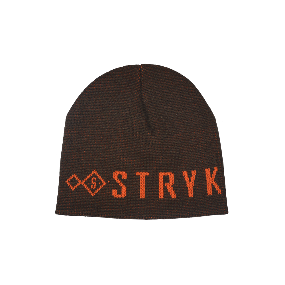 Stryk fishing apparel beanie - black and pink