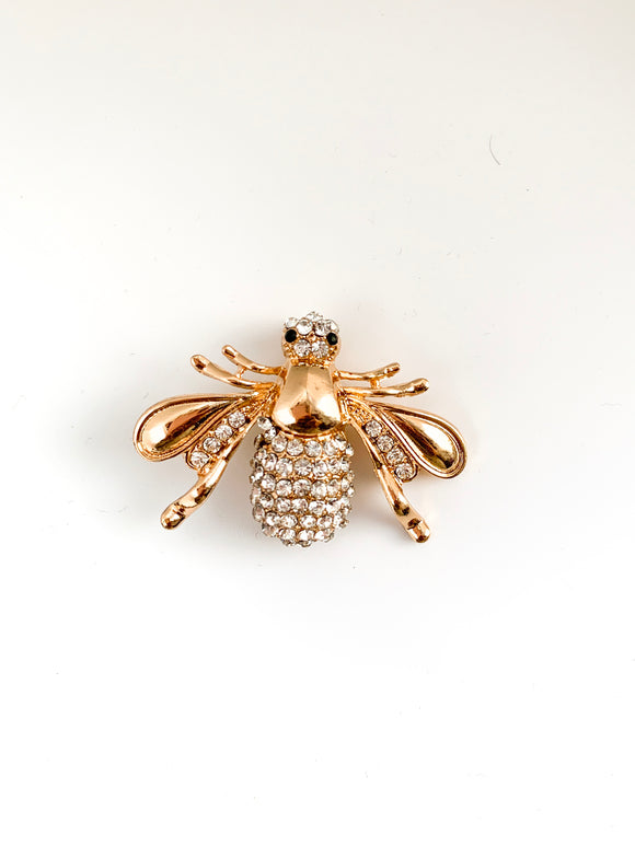 Embellished Bee Brooch - FREEda Women NYC