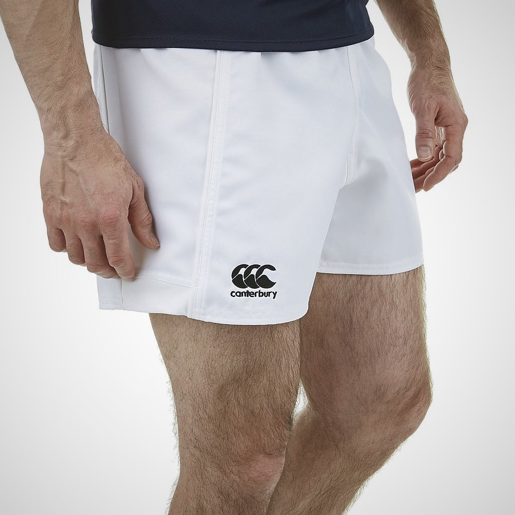 CANTERBURY CCC ADVANTAGE RUGBY SHORT - WHITE