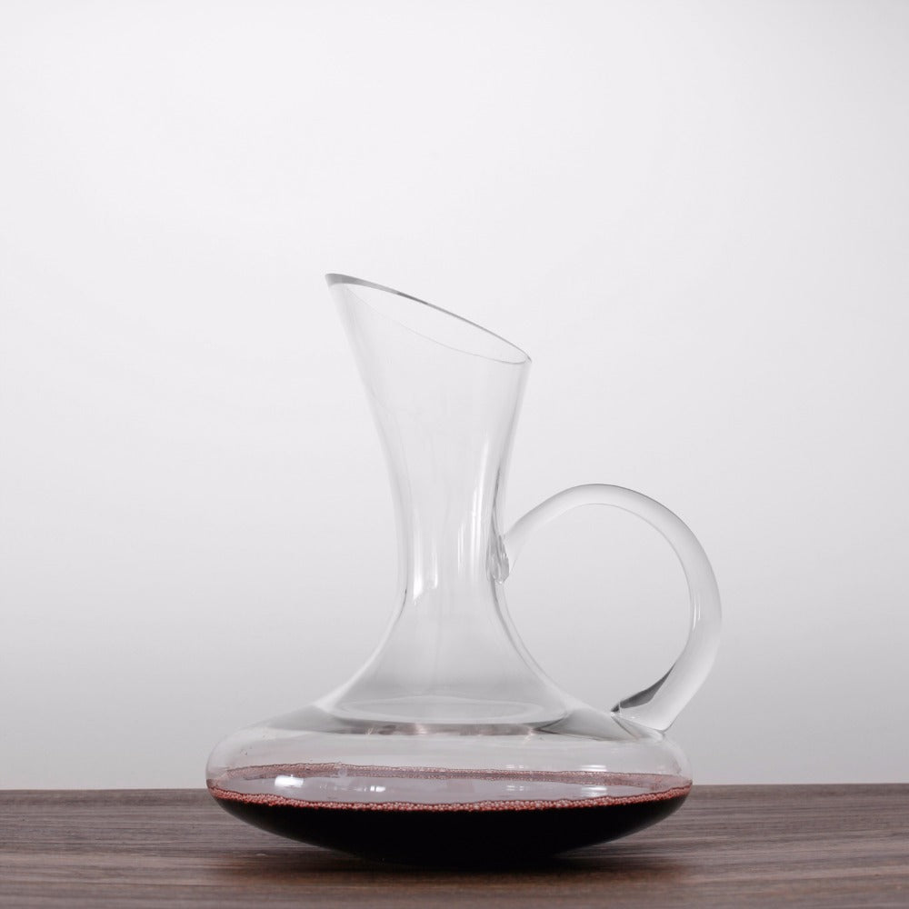 1500ML Lead-Free Crystal Decanter with Handle