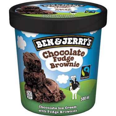 Ben & Jerry's Ice Cream, Half Baked, 500ml