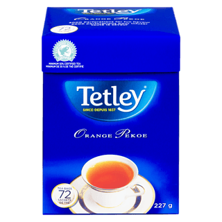 Orange Pekoe Black Tetley Tea (72 pk)