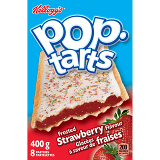 Kellogs Pop-Tarts, Frosted Strawberry, [HFX]