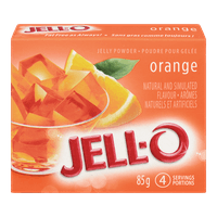 Jello, Orange, 85g