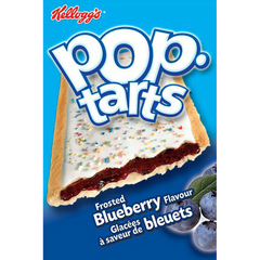 Kellogs Pop-Tarts, Frosted Blueberry
