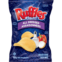 Ruffles, All Dressed, 220g, [HFX]