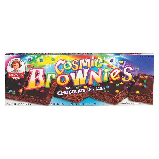 Little Debbie Cosmic Brownies, 6 Pk