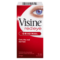 Visine Eye Drops, 15ml, [HFX]