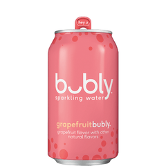 Grapefruit Bubly, Sparkling Water, 355ml