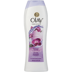 Olay Body Wash, Soothing Orchid & Black Currant, [HFX]