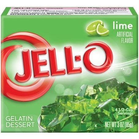 Jello, Lime, 85g, [HFX]