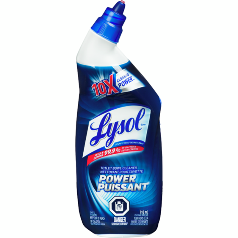 Lysol Toilet Bowl Cleaner, Power, 710ml