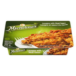 Michelina's Lasagna and Meat Sauce
