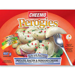 Potato, Bacon & Romano Cheese Perogies, Cheemo, 907g