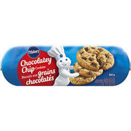 Pillsbury Chocolatey Chip Cookie Dough, 468g