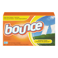 Bounce Dryer Sheets, Outdoor Fresh (80 sh)