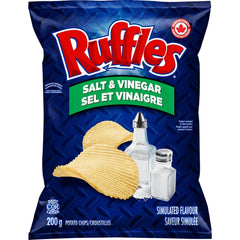 Ruffles, Salt & Vinegar, 200g