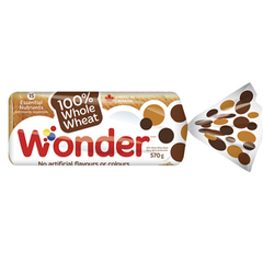 REDUCED - Best before April 14: Wonder Bread, Whole Wheat Bread, 570g