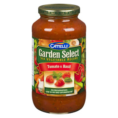 Catelli Garden Select, Tomato & Basil Pasta Sauce, 410mL