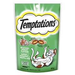 Whiskas Temptations Cat Treats, Seafood Medley, [HFX]