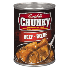 Campbells Chunky Beef Soup, [HFX]
