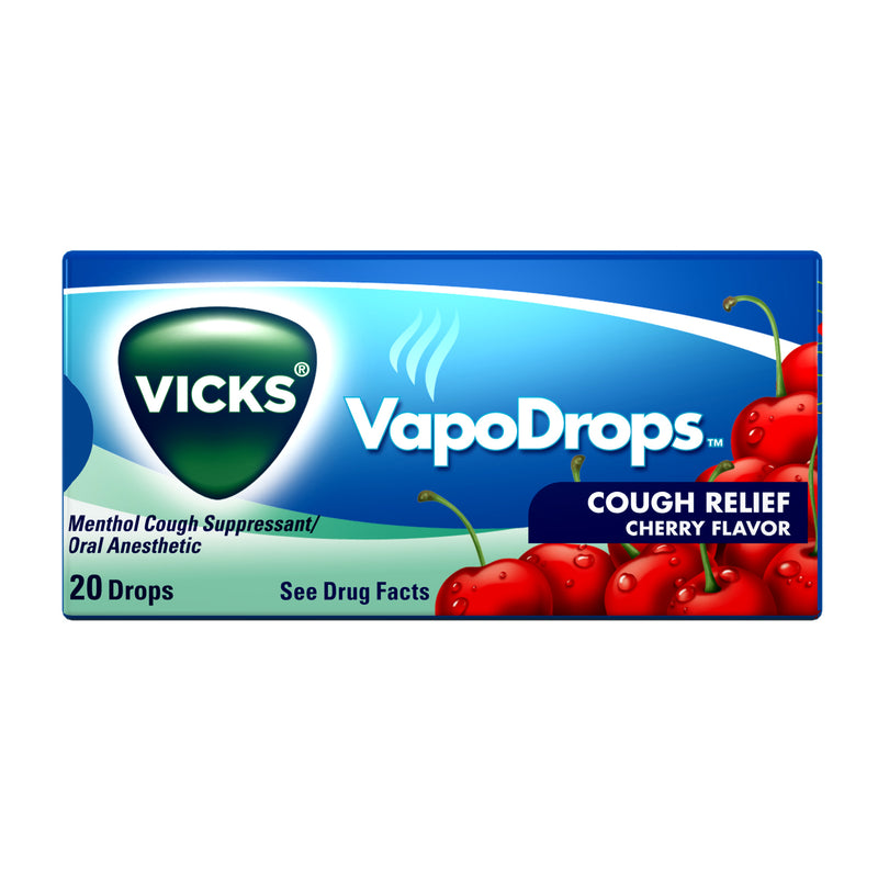 Vicks Vapodrops, Cherry, 25mg