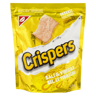 Crispers, Salt & Vinegar, 175g