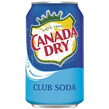 Canada Dry Club Soda, 355ml, [HFX]