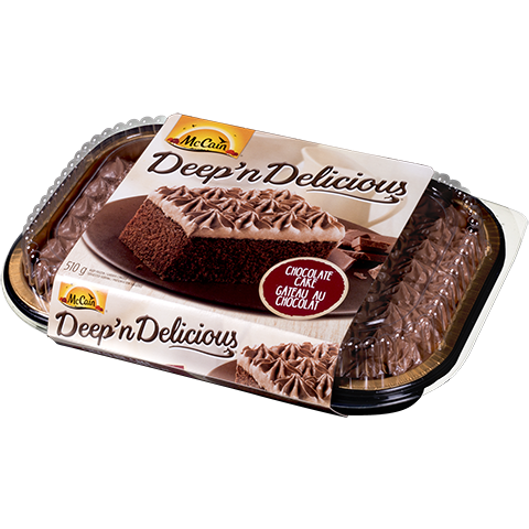 McCain Deep 'n Delicious, Chocolate Cake, 510g, [HFX]