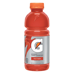 Limit 4 per customer: Gatorade, Fruit Punch, 591ml