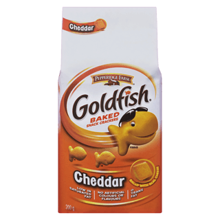 Pepperidge Farm Goldfish Crackers, Cheddar, 200g, [HFX]