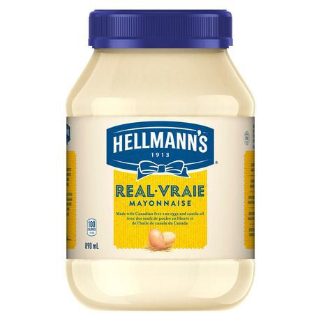 Hellmann's Real Mayonnaise, 890mL