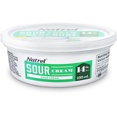 Farmers by Natrel Sour Cream, 14%, 250ml, [HFX]