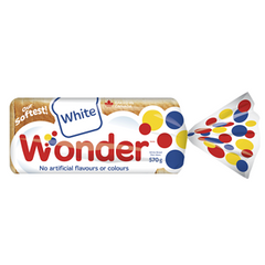 REDUCED - Best before Apr 14: Wonder Bread, White Bread, 570g