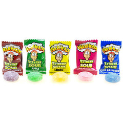 Warheads, Extreme Sour Hard Candy, Watermelon, 1 piece