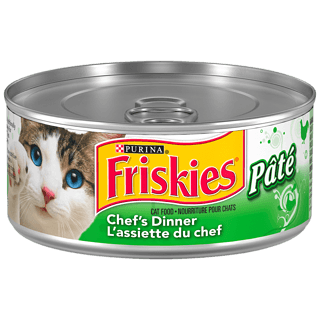 Purina Friskies Pate Cat Food, Chicken Dinner