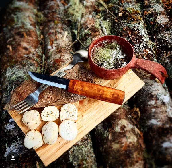 Steven Clarke, @BackCountry_King, WeatherWool Advisor, loves backcountry cooking!