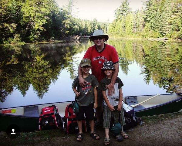 Steven Clarke, @BackCountry_King, WeatherWool Advisor, loves backcountry camping with his family