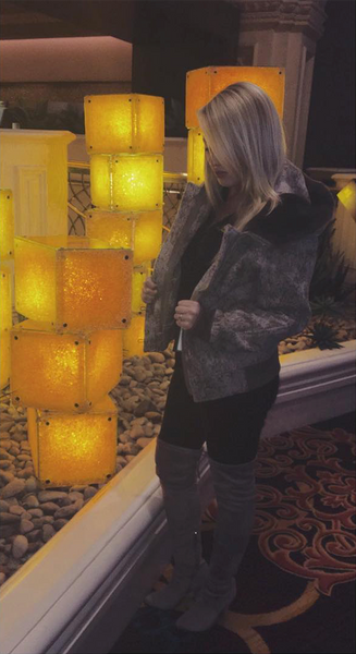 WeatherWool Ladies Bomber Jacket in Las Vegas