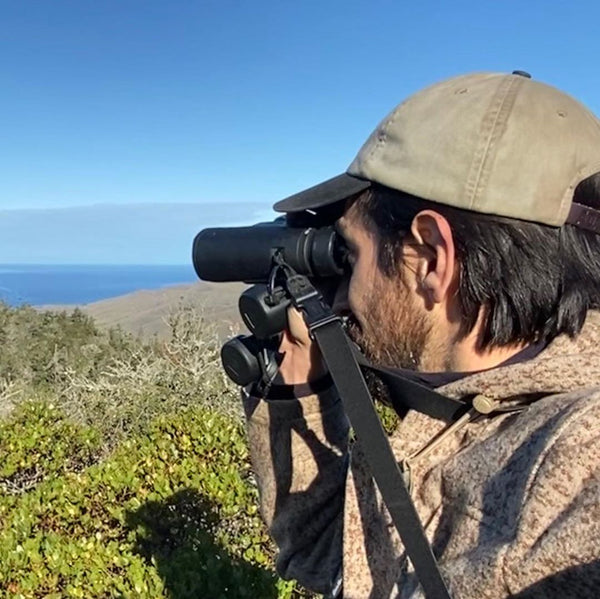 Professional Wildlife Biologist Christopher Tarango (@etho.gram) posted on Instagram several photos and a great narrative about the versatility of his WeatherWool Lynx Pattern Anorak