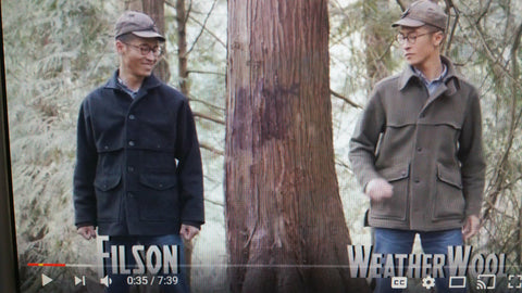 WeatherWool Advisor Don Nguyen, a professional outdoorsman, produced a Youtube video comparing the WeatherWool All-Around Jacket to the Filson Double Mackinaw Jacket