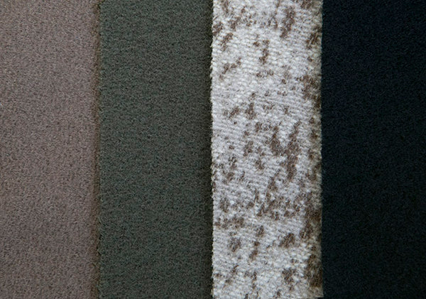 The color palette of WeatherWool pure wool, merino Jacquard Fabric