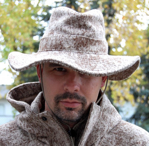 WeatherWool Big Brim Boonie Hat Lynx Pattern Mark Kakkuri Guns Magazine
