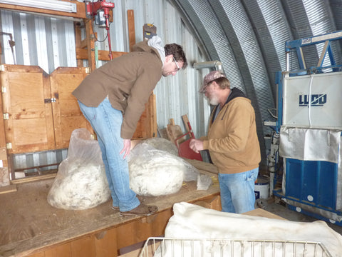 WeatherWool sources raw wool fiber from Jewell Ranch in Colorado, home of superior sheep breeding stock