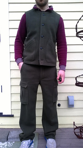 WeatherWool Prototype Pants and Vest