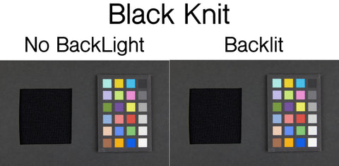 People comparing WeatherWool to other woolens or other Fabrics and other pieces of WeatherWool will sometimes hold the garments up to a light source and see how much brightness shines through. When performing this test, it's important to compare like colors, because the brighter colors will transmit more light than the darker colors, and this can create confusion.