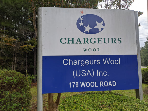 WeatherWool uses Chargeurs in South Carolina to clean our wool.